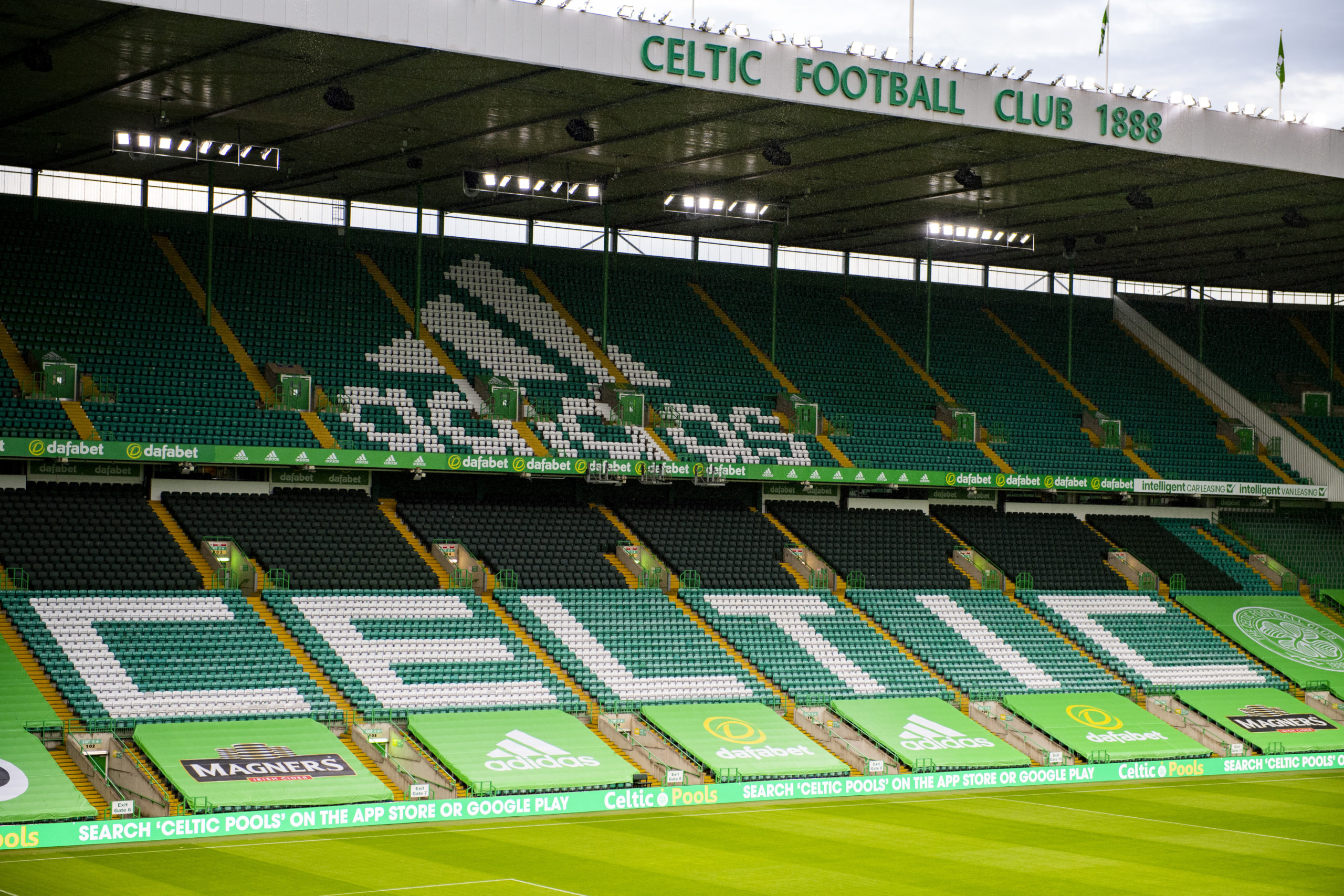 Celtic fans haven't been given access to Parkhead this season