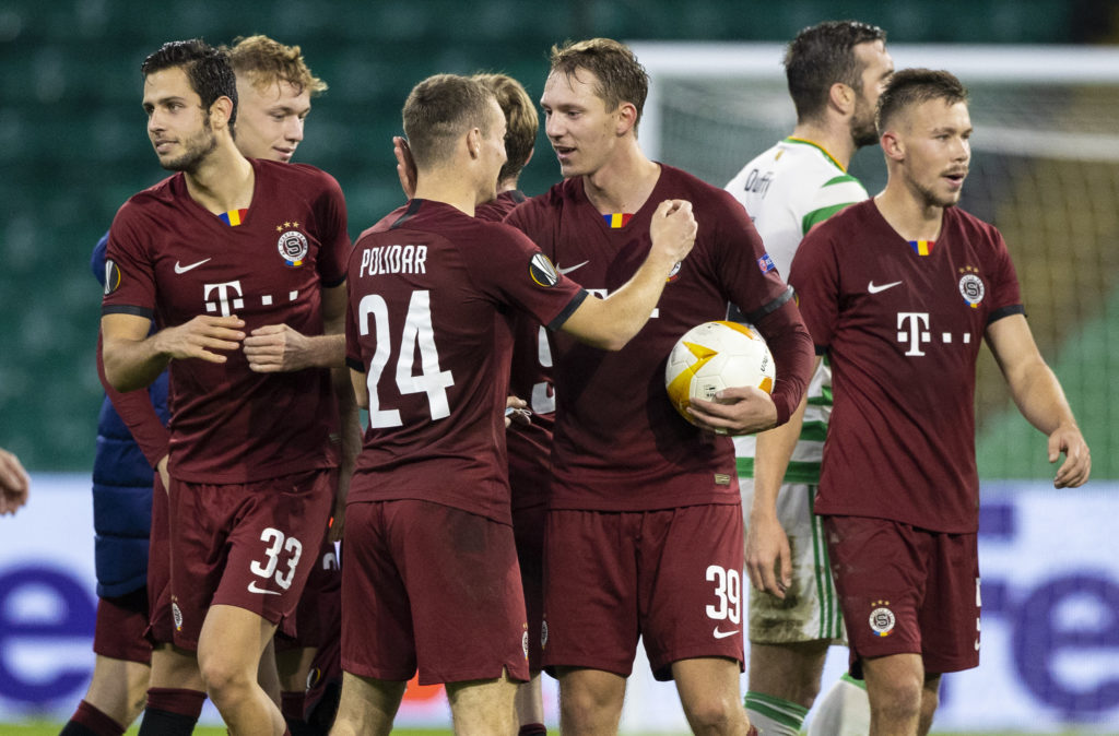 Sparta Prague's win over Celtic was followed by defeat