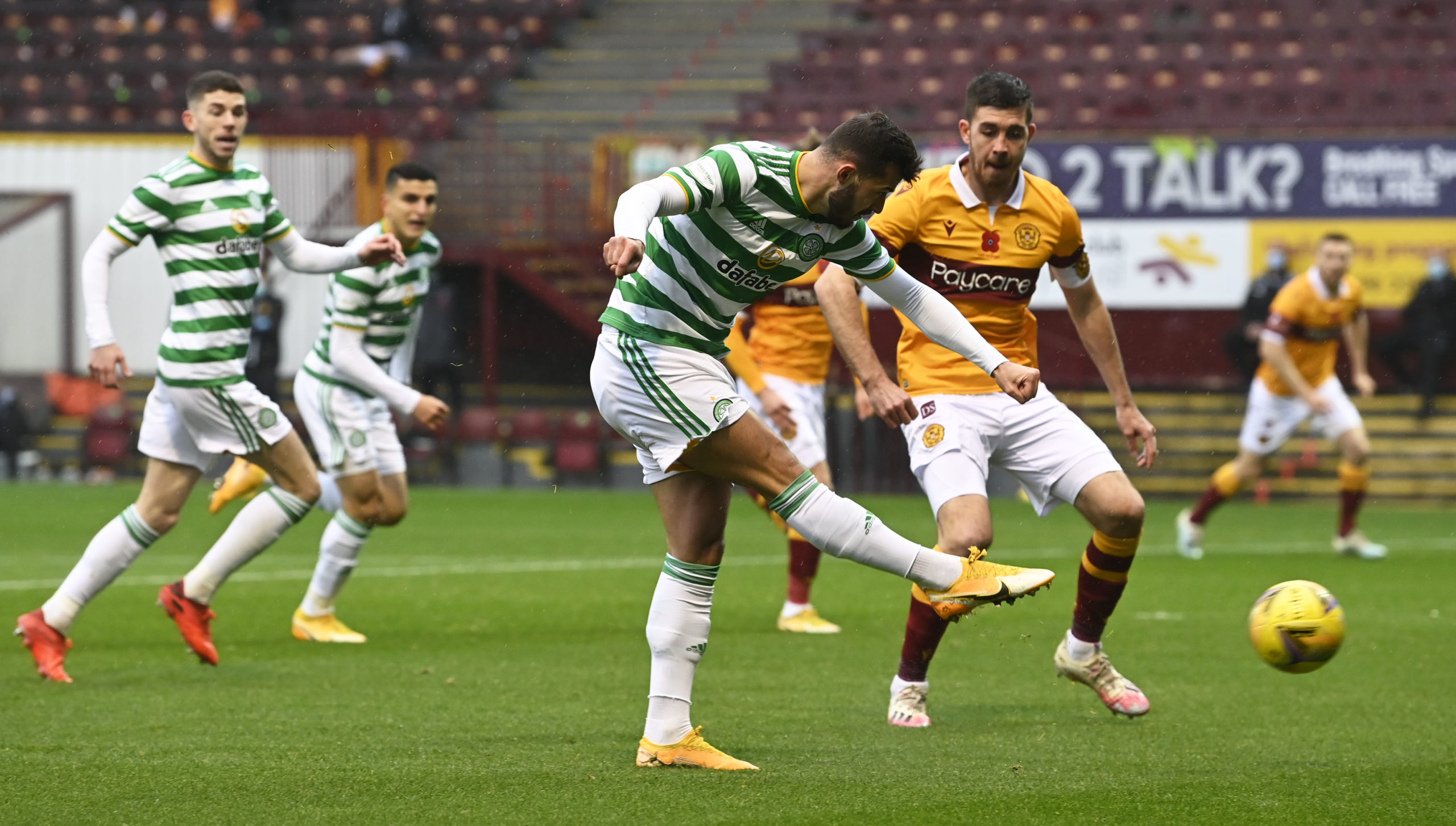 Albian Ajeti made a key contribution for Celtic today