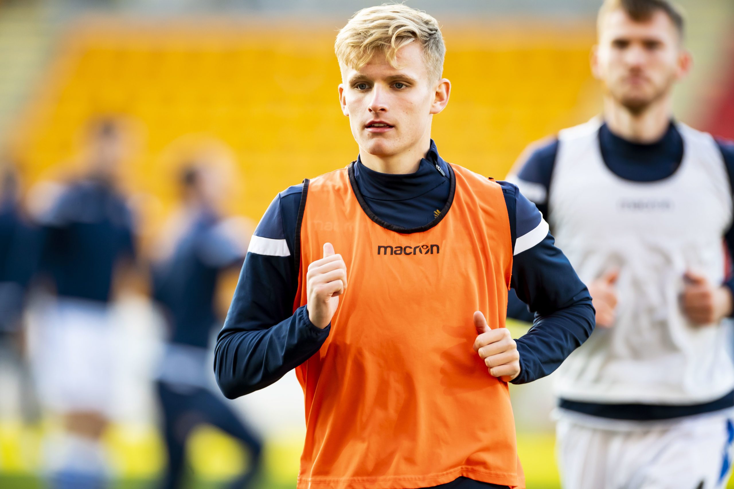 St Johnstone's Ali McCann, who was reportedly scouted by Celtic