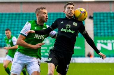 Ryan Christie in action for Celtic