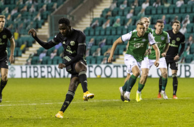 Edouard scores against Hibs