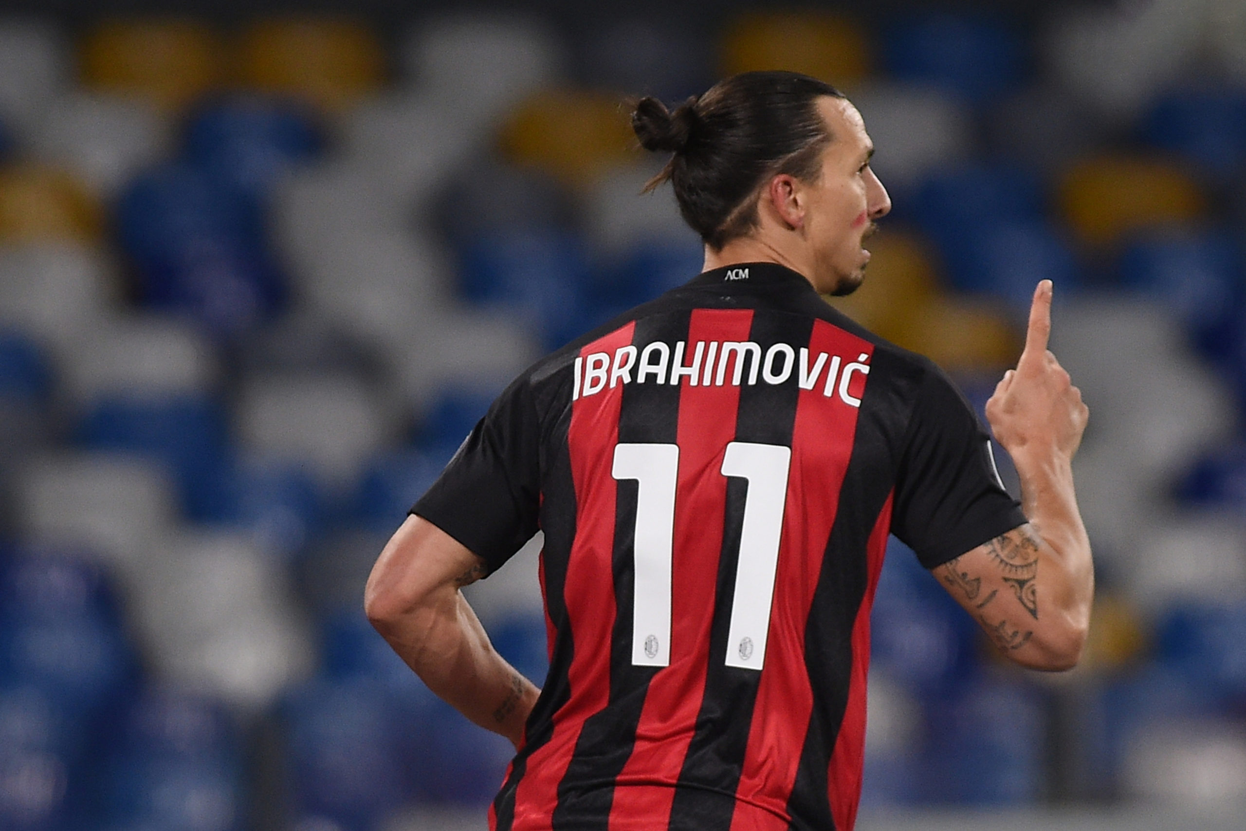 Zlatan Ibrahimovic will miss the Celtic game