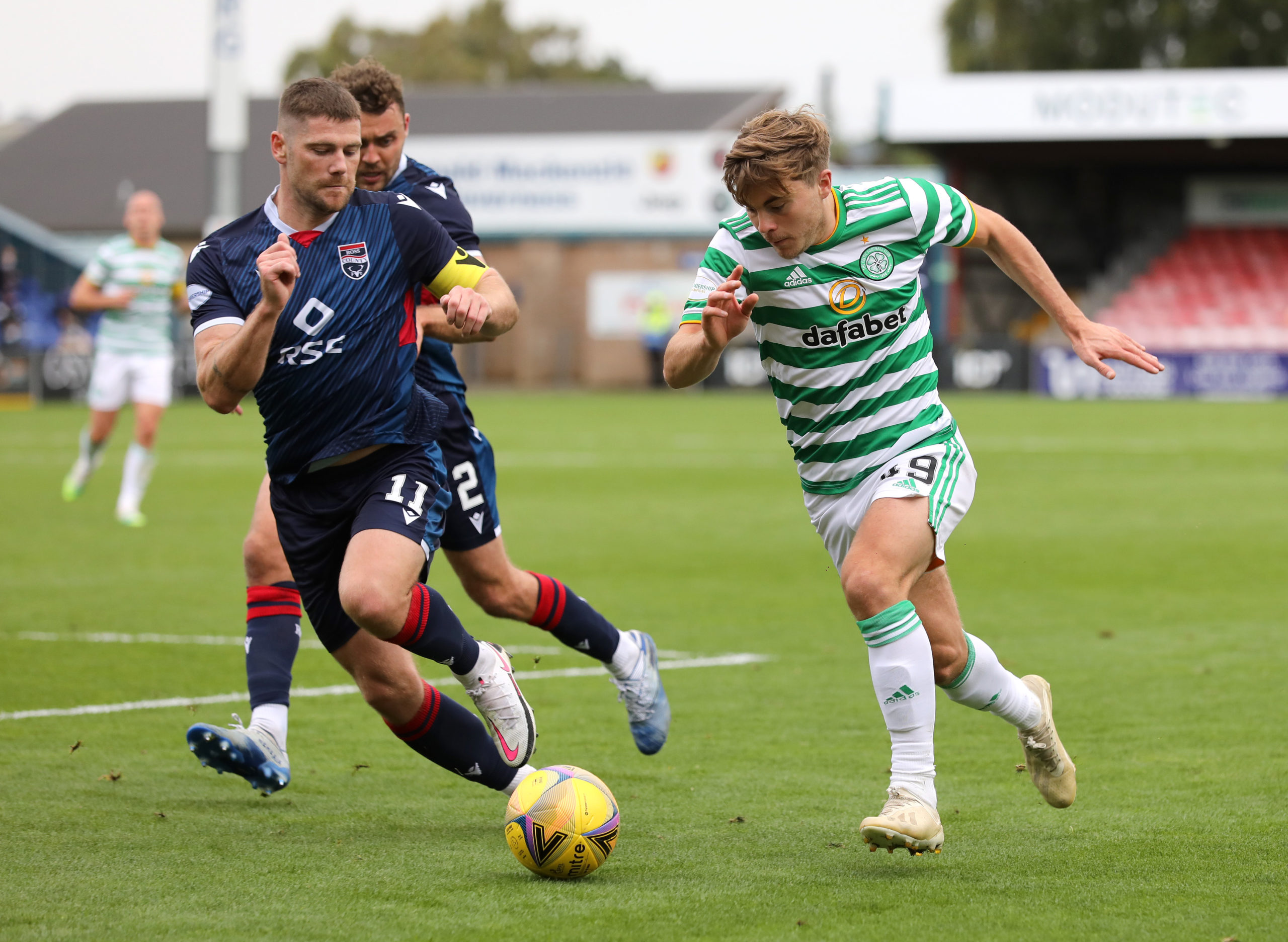 Celtic James Forrest injury