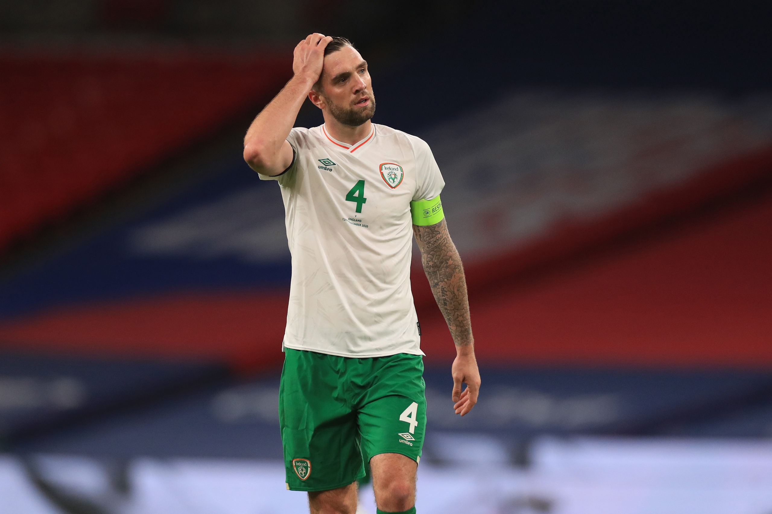 Celtic centre-back Shane Duffy has had a tough time of it