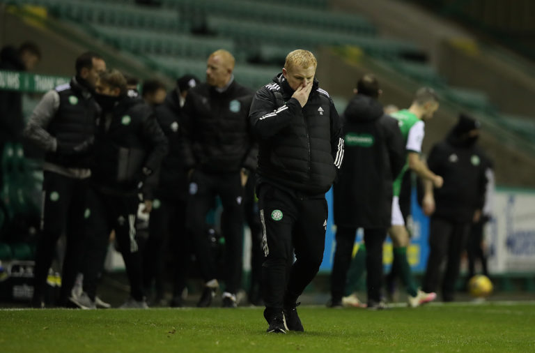 Neil Lennon after Celtic vs Hibernian