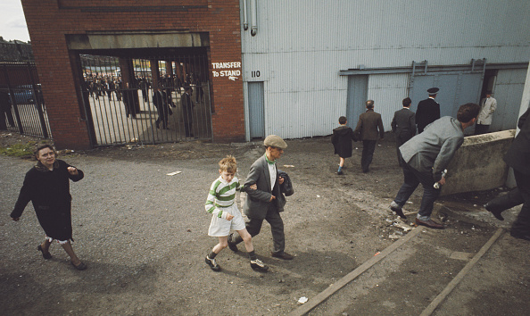 Celtic Football Supporters 1967