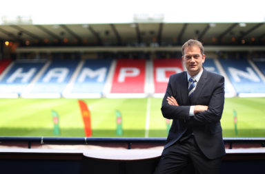 SFA Chief Executive Ian Maxwell