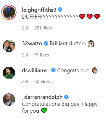 People react to Shane Duffy's Celtic post on Instagram