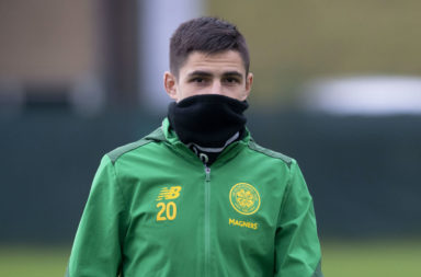 Marian Shved in Celtic training