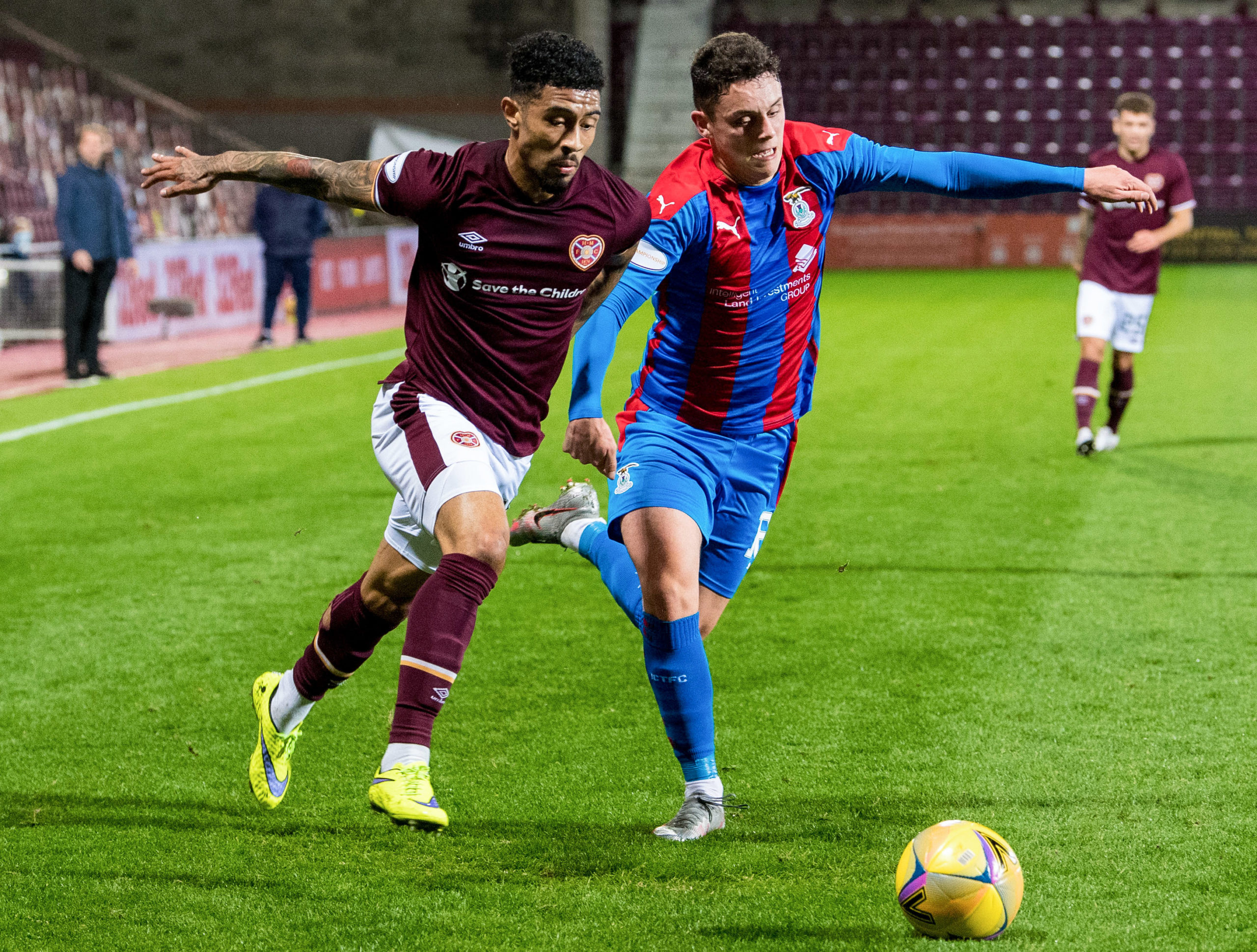 Heart of Midlothian v Inverness Caledonian Thistle - Betfred Cup Match