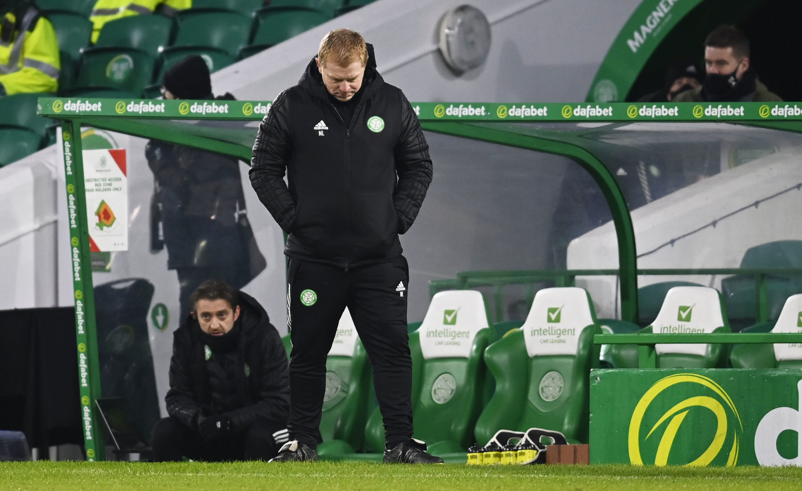 Celtic boss Neil Lennon vs St Johnstone