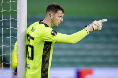 Celtic goalkeeper Conor Hazard has been dropped