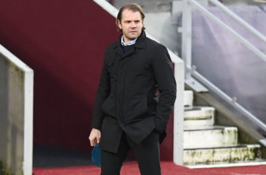 Hearts boss Robbie Neilson will face Celtic today