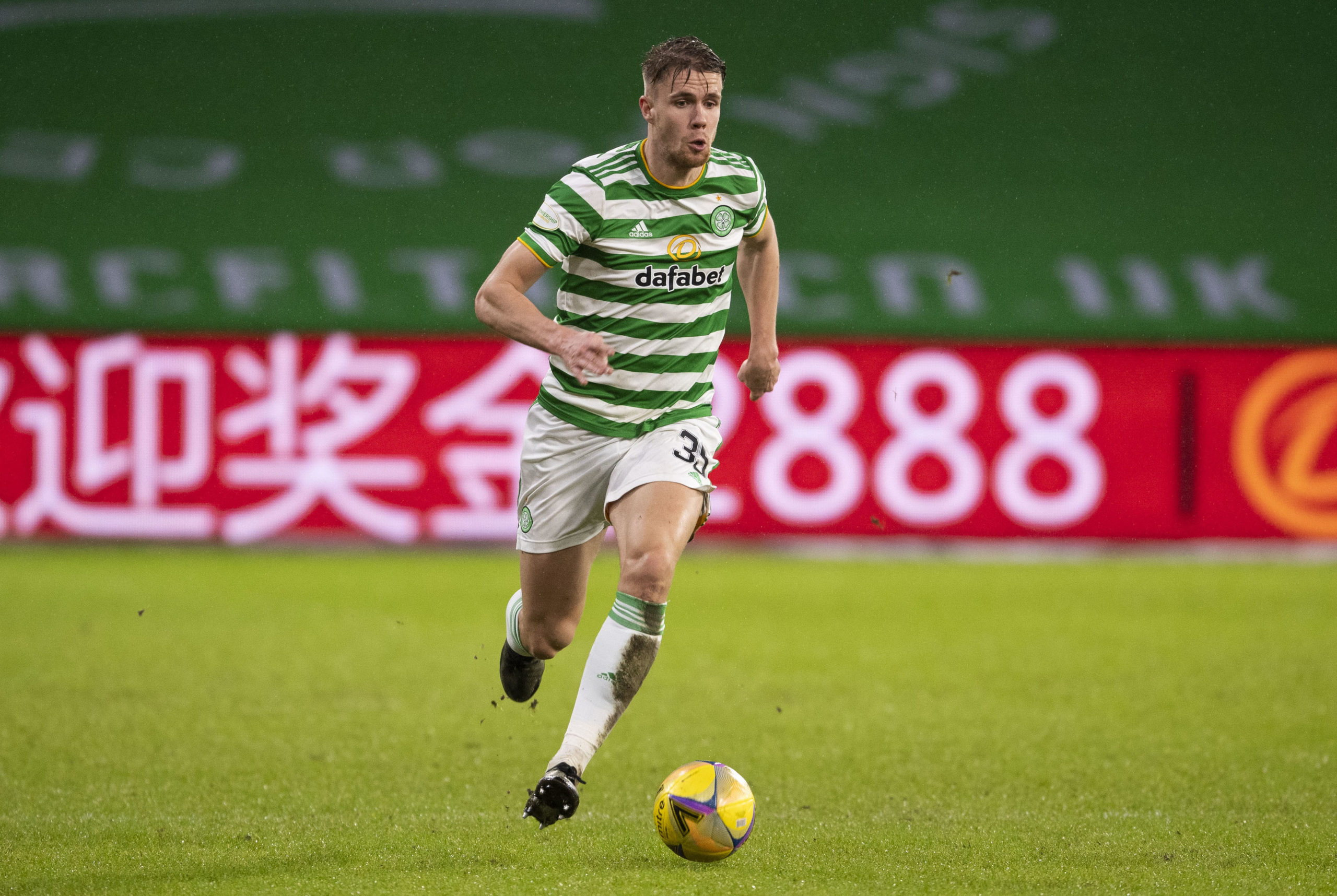 Celtic defender Kristoffer Ajer stars at right-back vs Kilmarnock