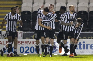 St Mirren have landed the first blow on Celtic's title rivals this season
