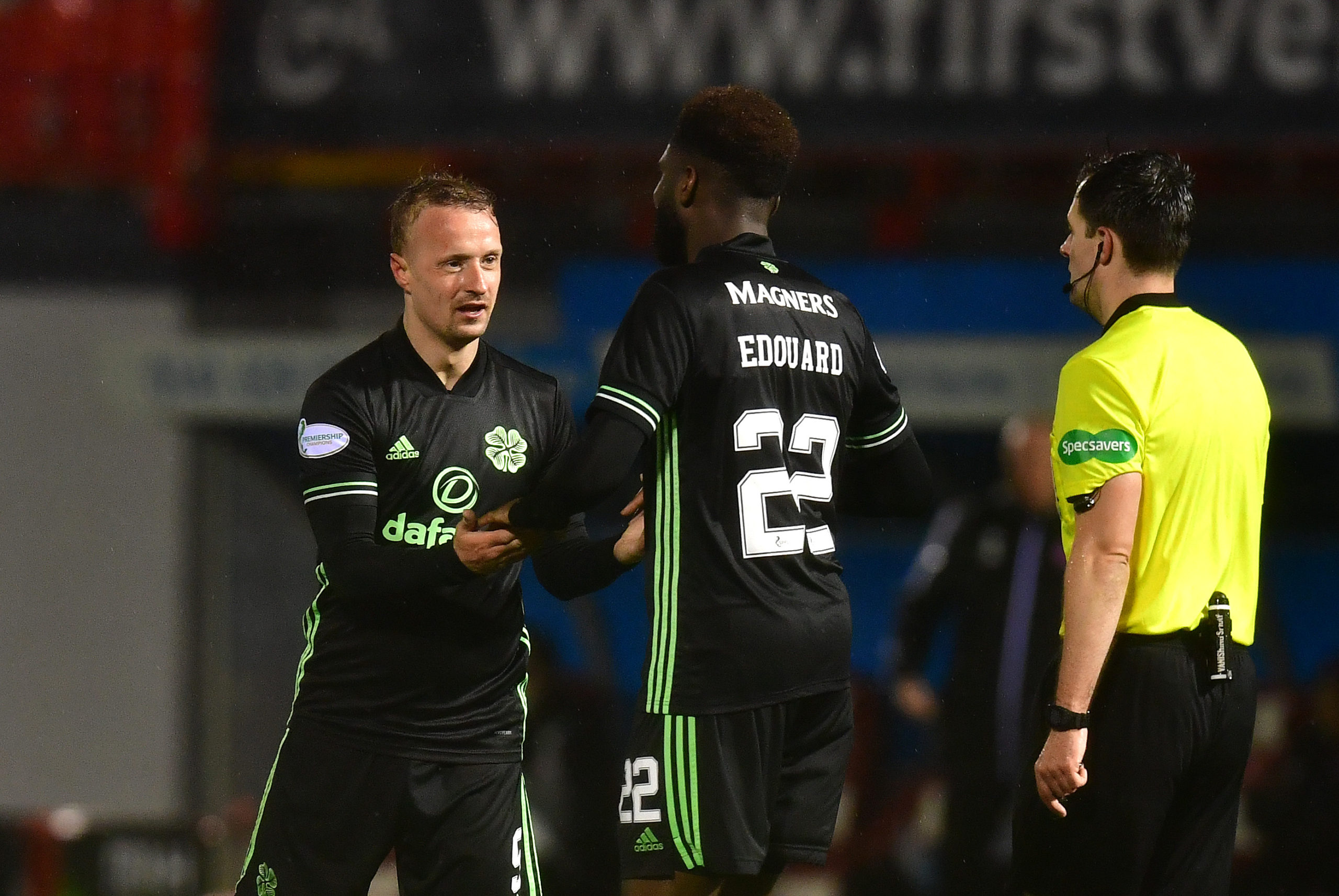 Celtic strike duo Leigh Griffiths and Odsonne Edouard