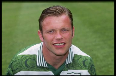 A portrait of John Hughes of Celtic