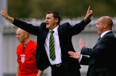 Former Celtic manager Tony Mowbray