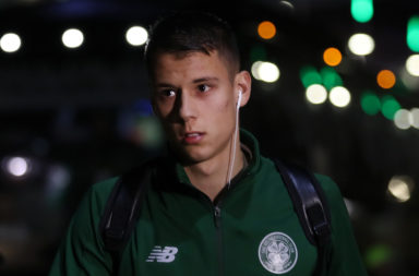 Filip Benkovic during his Celtic days