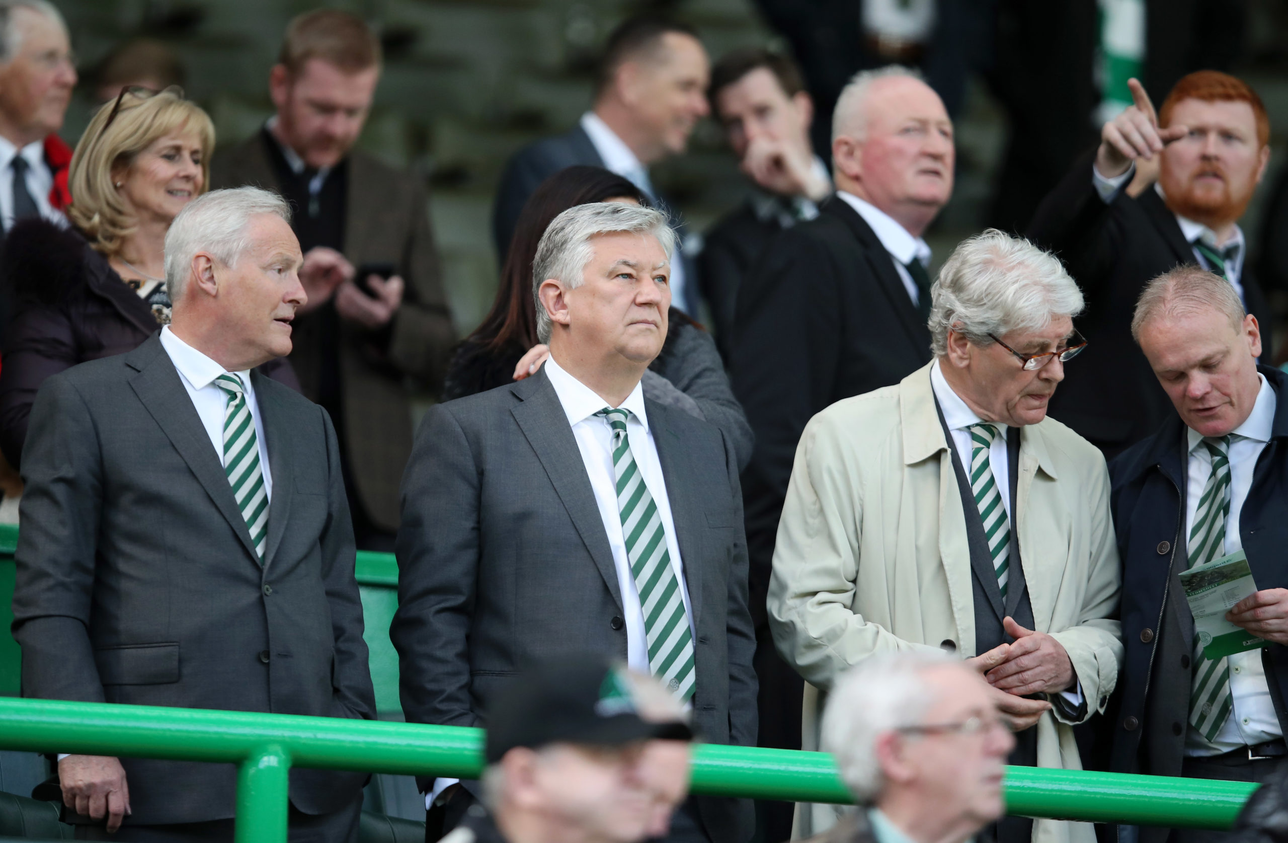 Celtic Green Brigade Peter Lawwell