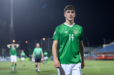 Celtic and Republic of Ireland youngster Barry Coffey
