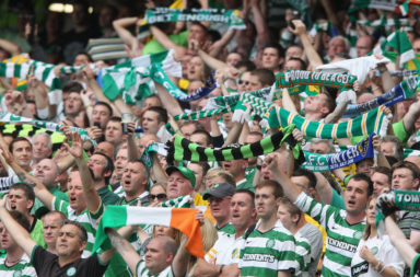 Celtic supporters Dublin