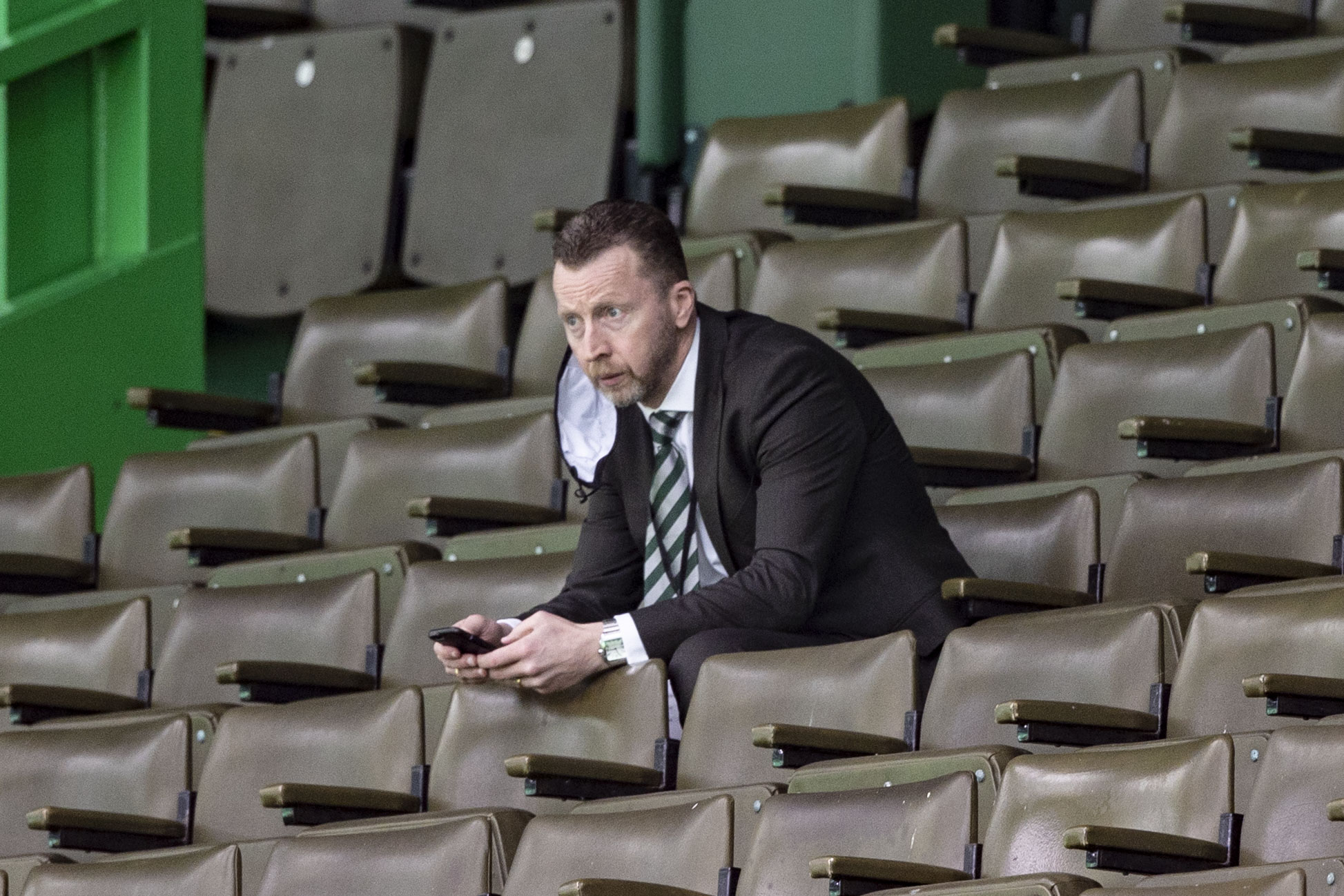 Nick Hammond is in charge of the scouting at Celtic