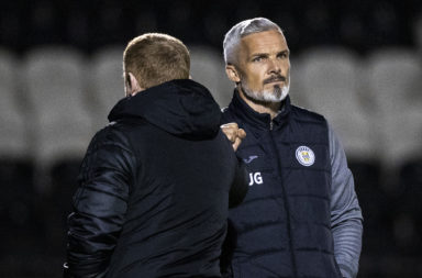 Jim Goodwin and Neil Lennon