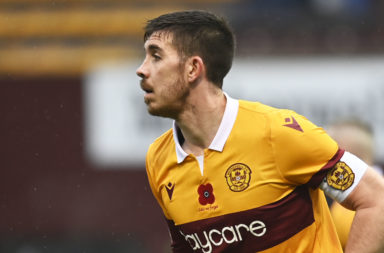 Motherwell centre-back Declan Gallagher