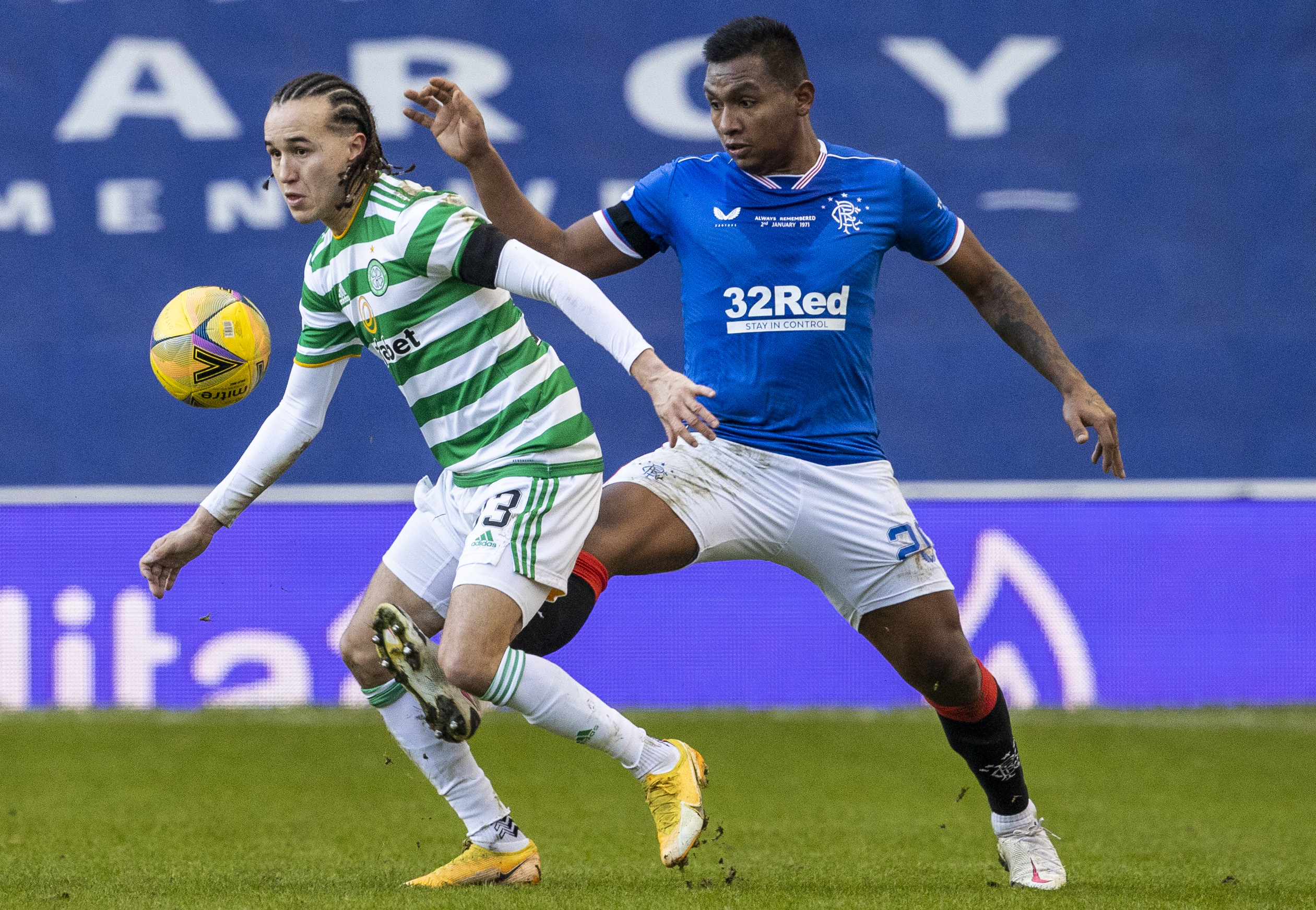 Celtic bossed Rangers at Ibrox