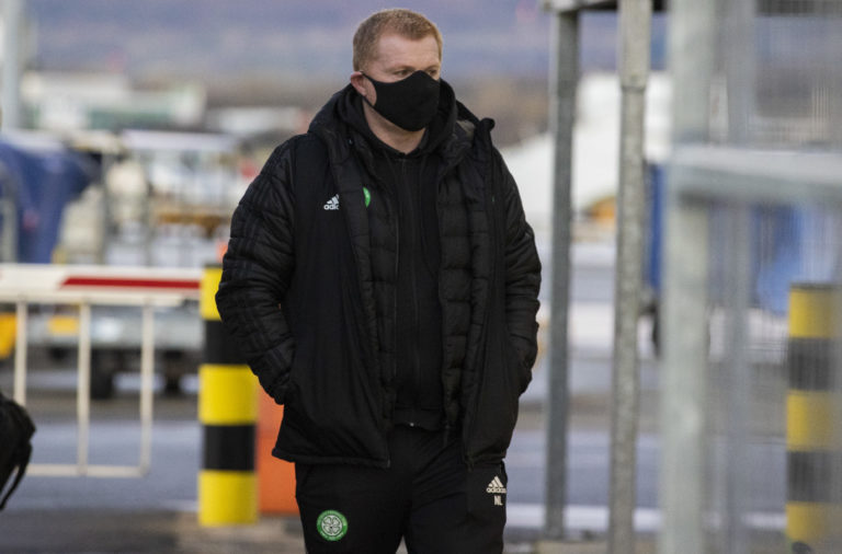 Neil Lennon press conference