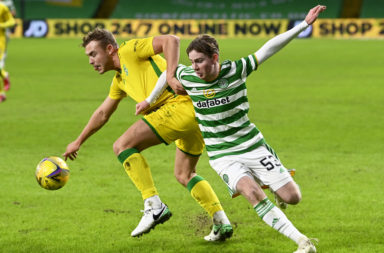 Celtic youngster Cameron Harper
