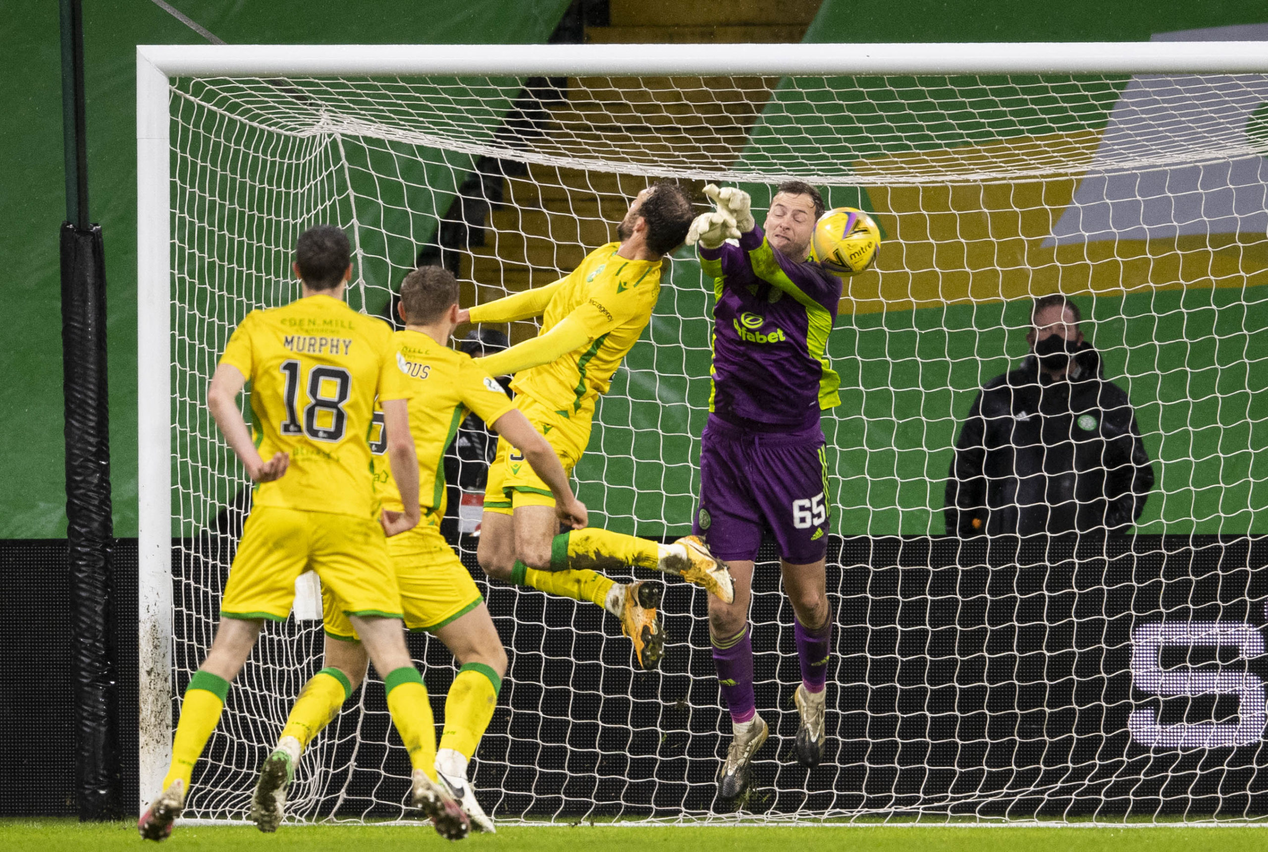 Celtic youngster Conor Hazard impressed before Hibernian howler