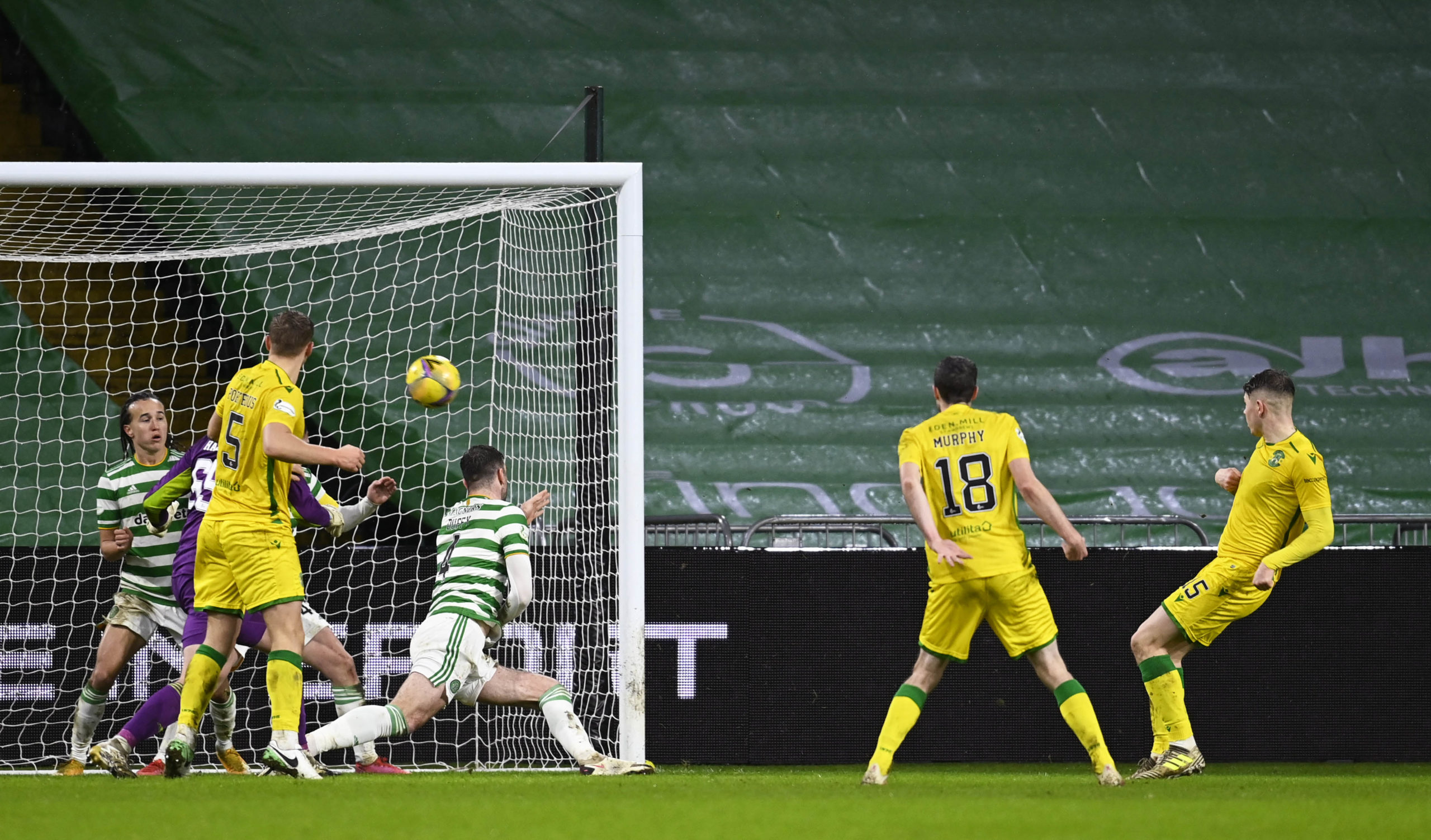 Was this the moment Celtic knew an a;ology was needed?