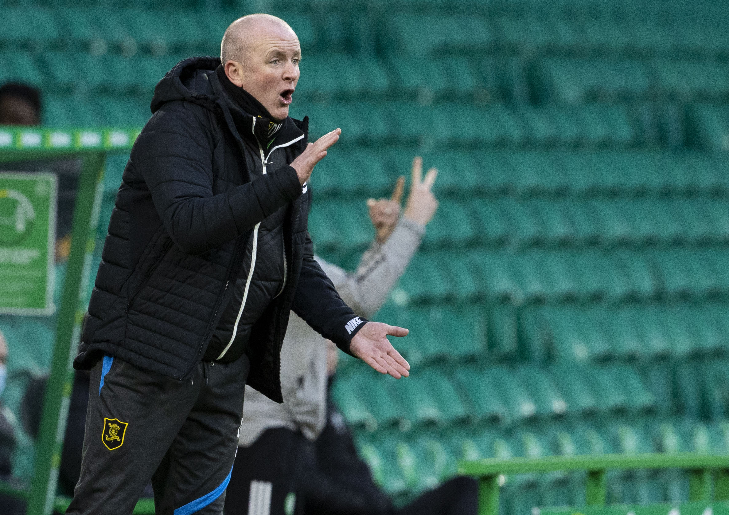 David Martindale guided Livingston to a point at Celtic Park