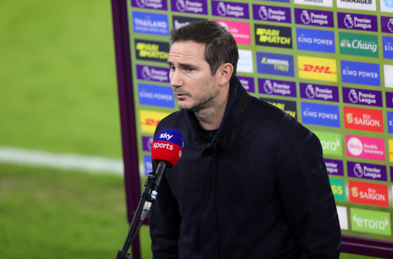 Former Chelsea manager Frank Lampard