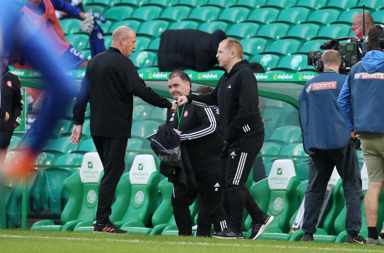 Brian Rice and Neil Lennon