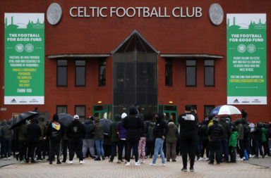 Green Brigade Celtic Peter Lawwell