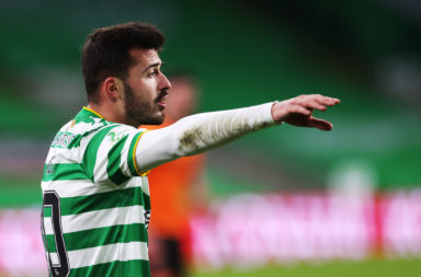 Albian Ajeti in action for Celtic