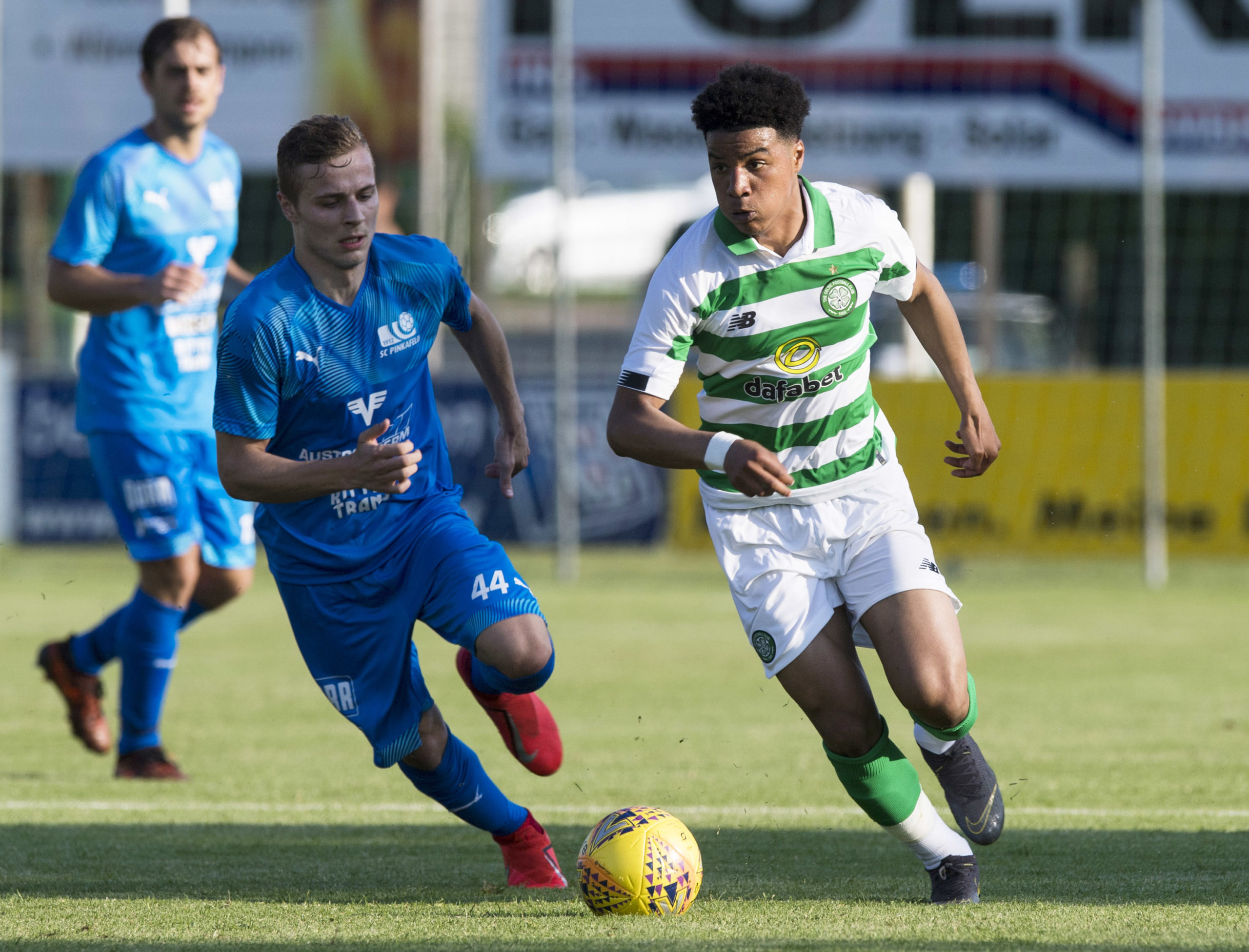 Celtic youngster Armstrong Okoflex