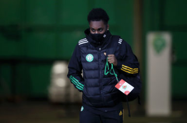 Celtic right-back Jeremie Frimpong