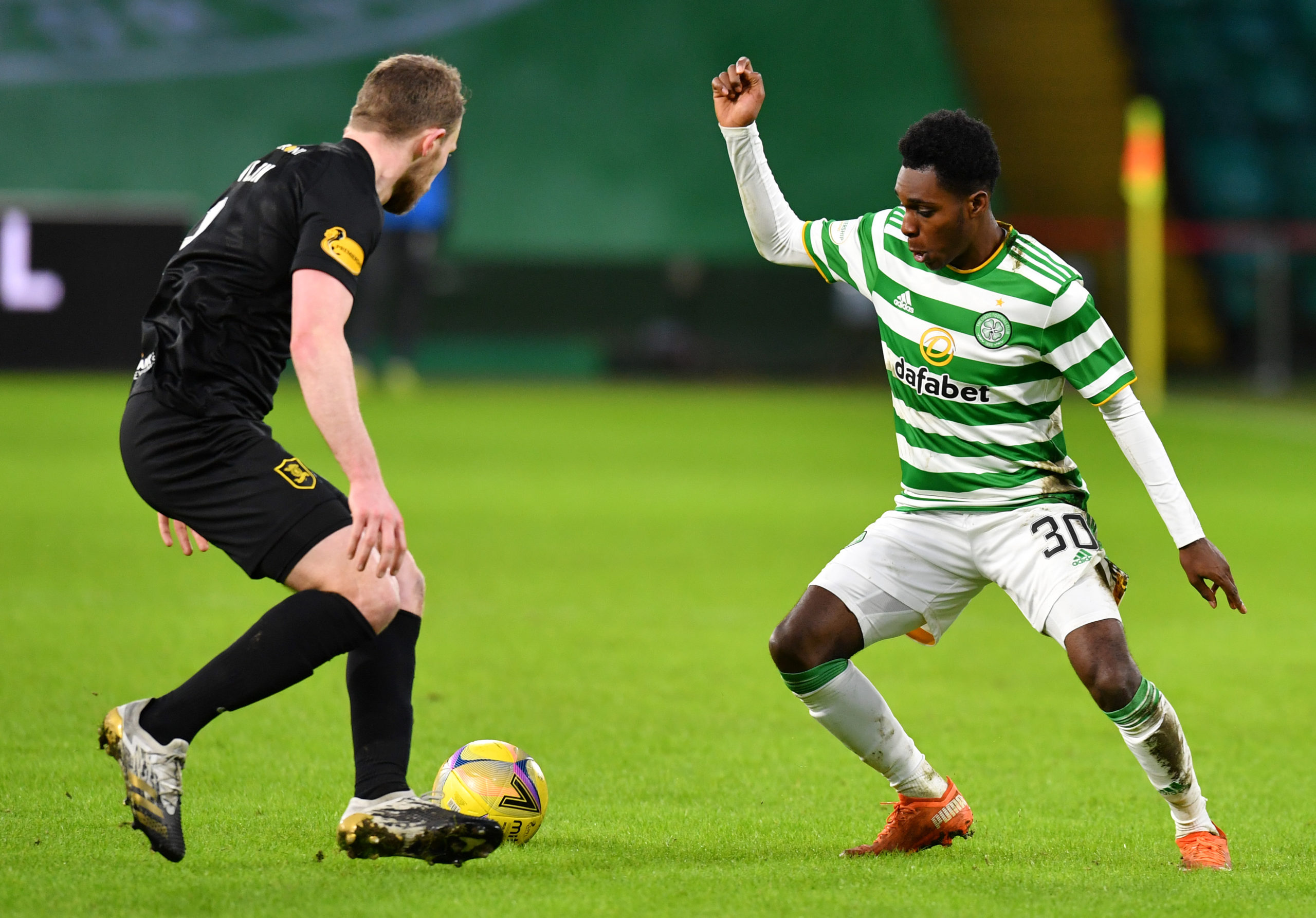 Celtic youngster Jeremie Frimpong