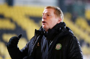 Neil Lennon before Livingston vs Celtic
