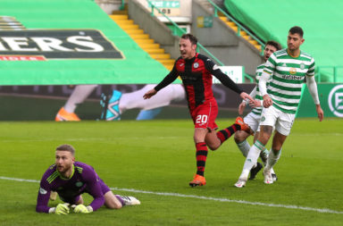 Celtic lost to St Mirren at Parkhead yesterday
