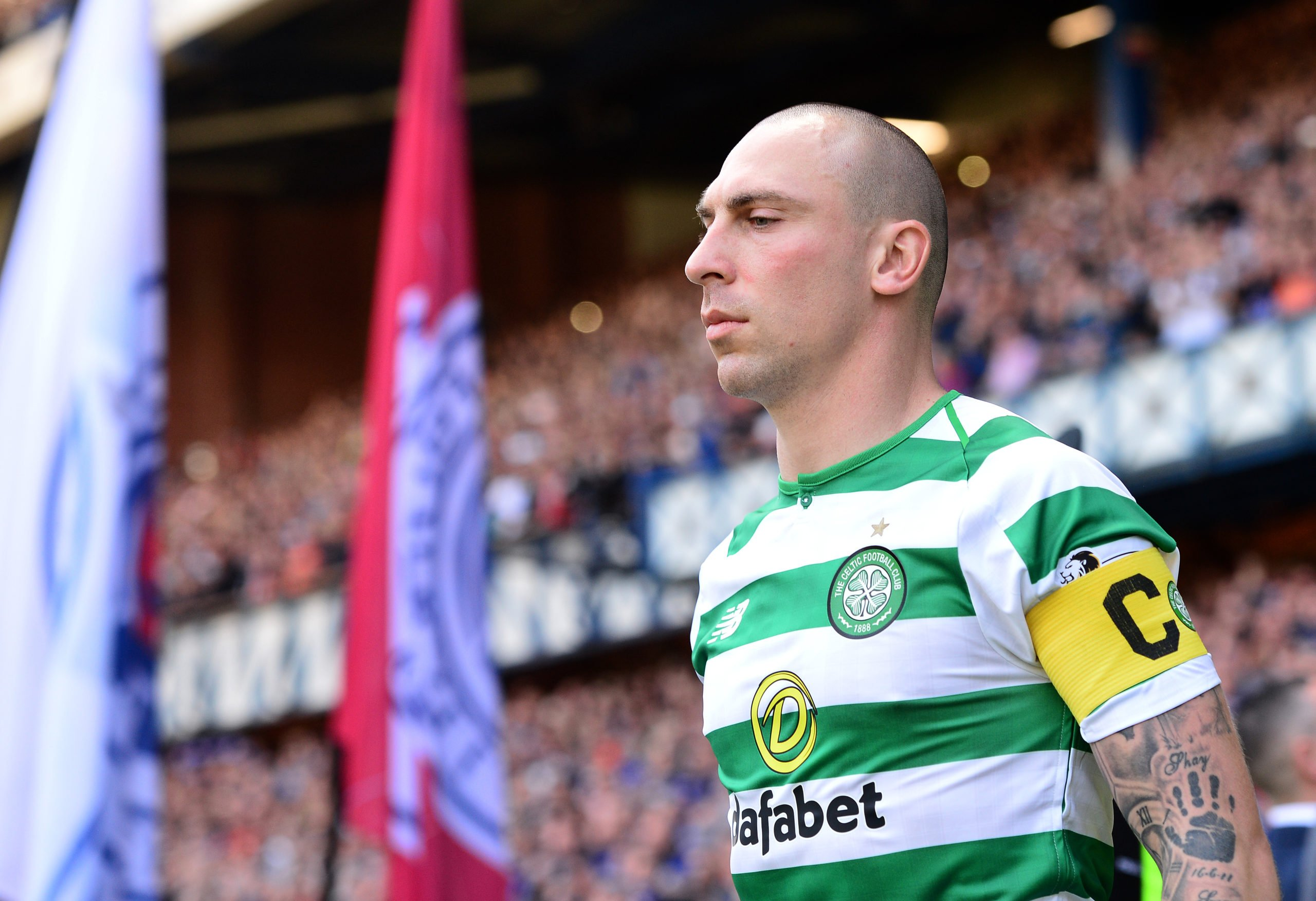 Scott Brown and co were given no guard of honour in 2019 Ibrox clash