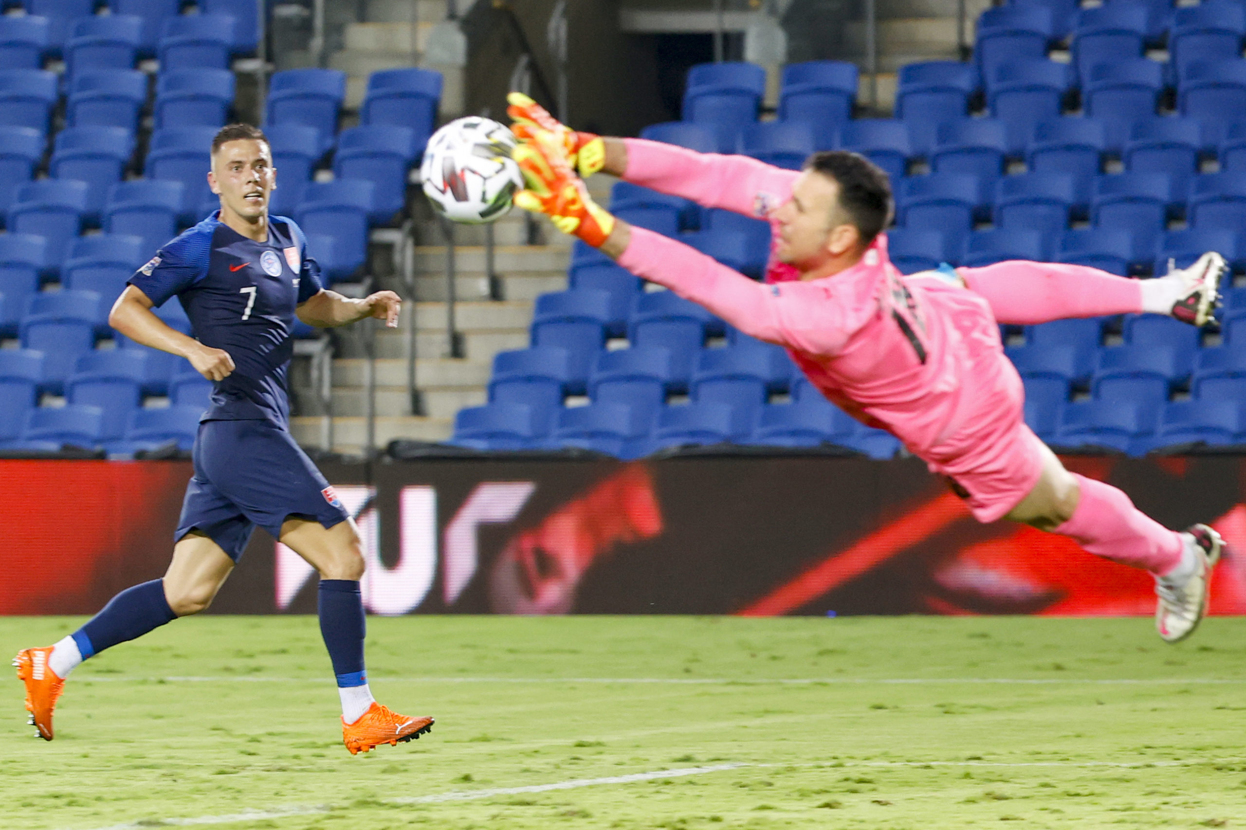 Ofir Marciano in action for Israel