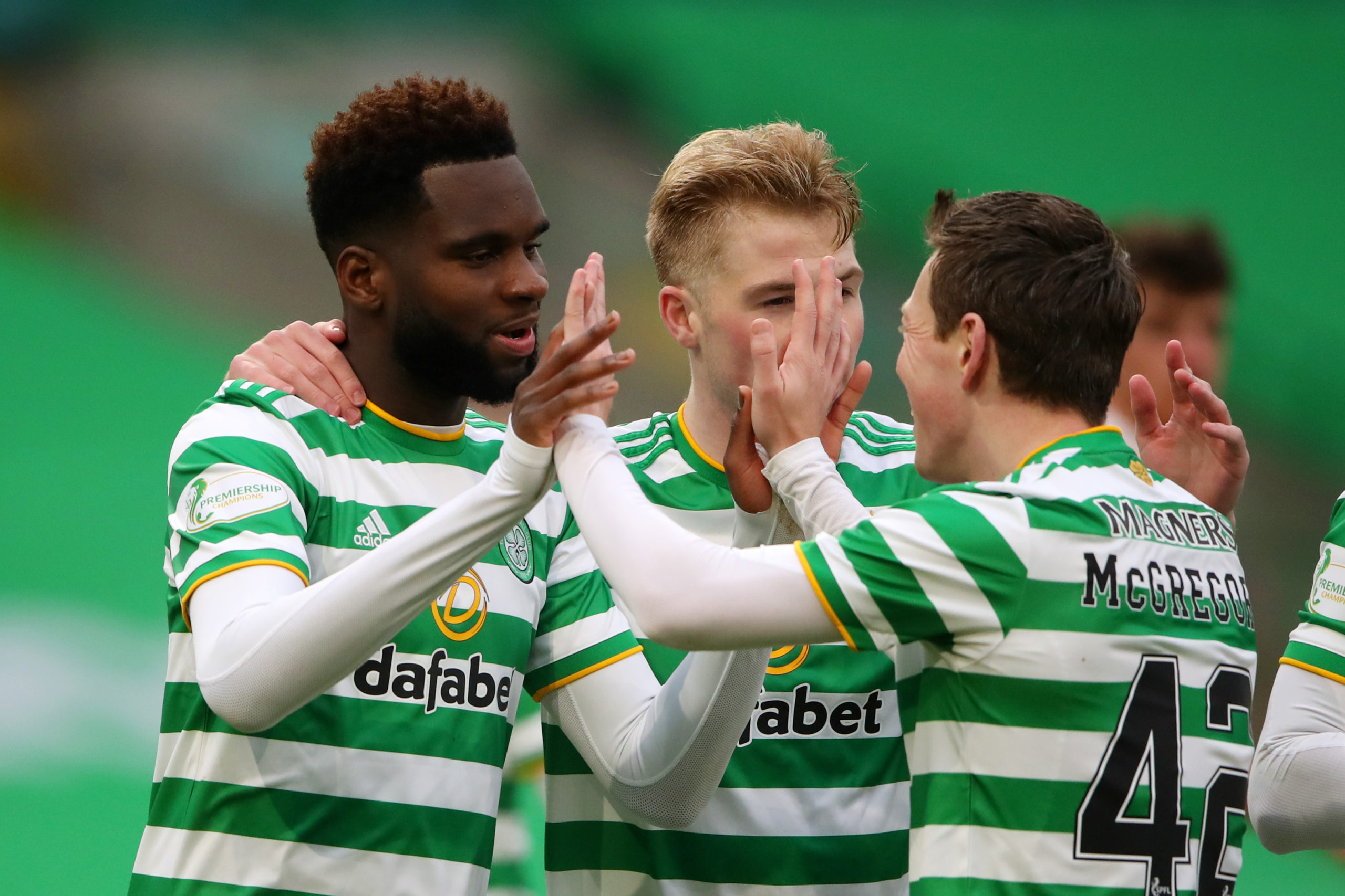 Celtic Andy Walker Odsonne Edouard