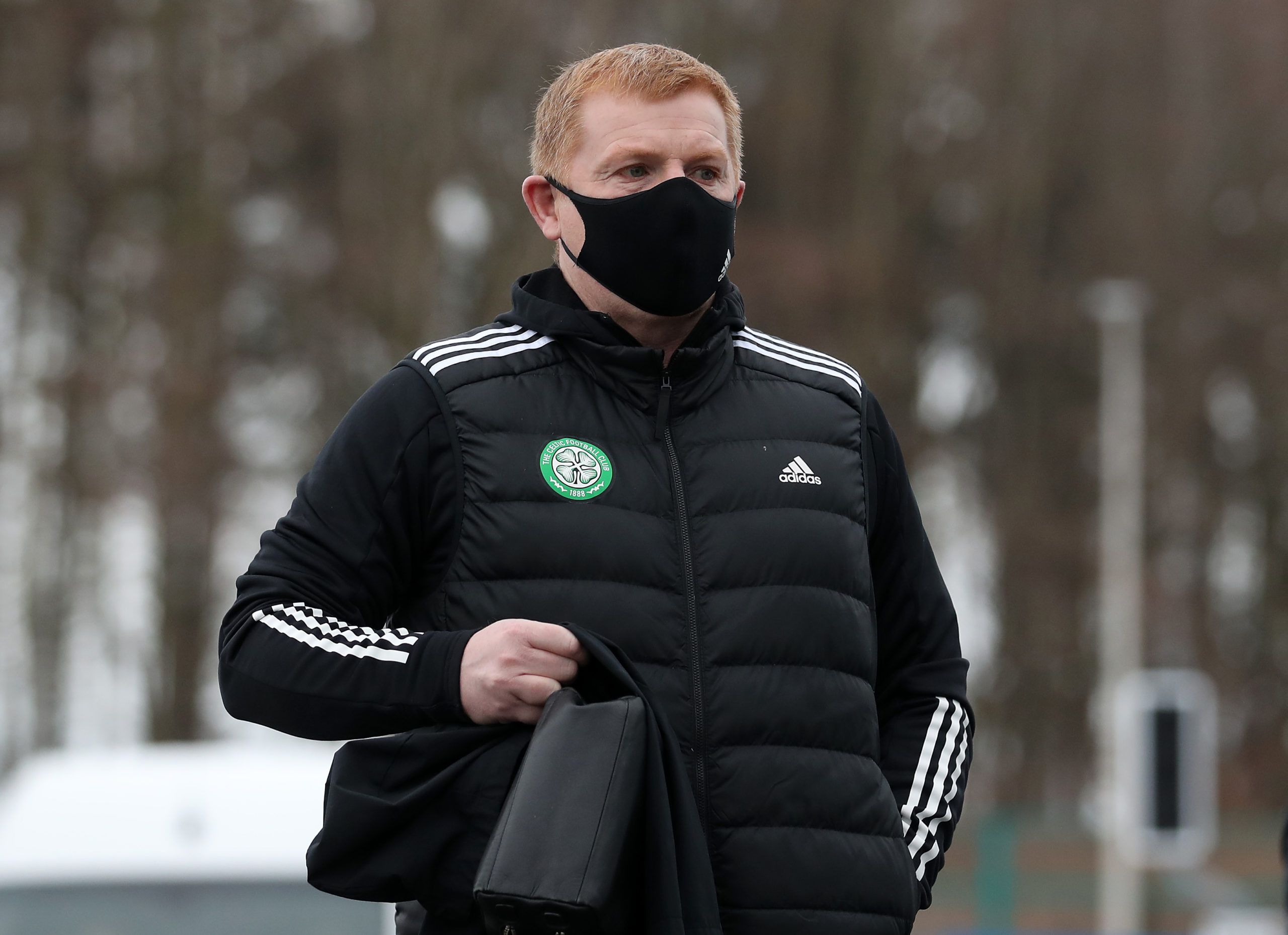Neil Lennon was pleased with his Celtic players once again today