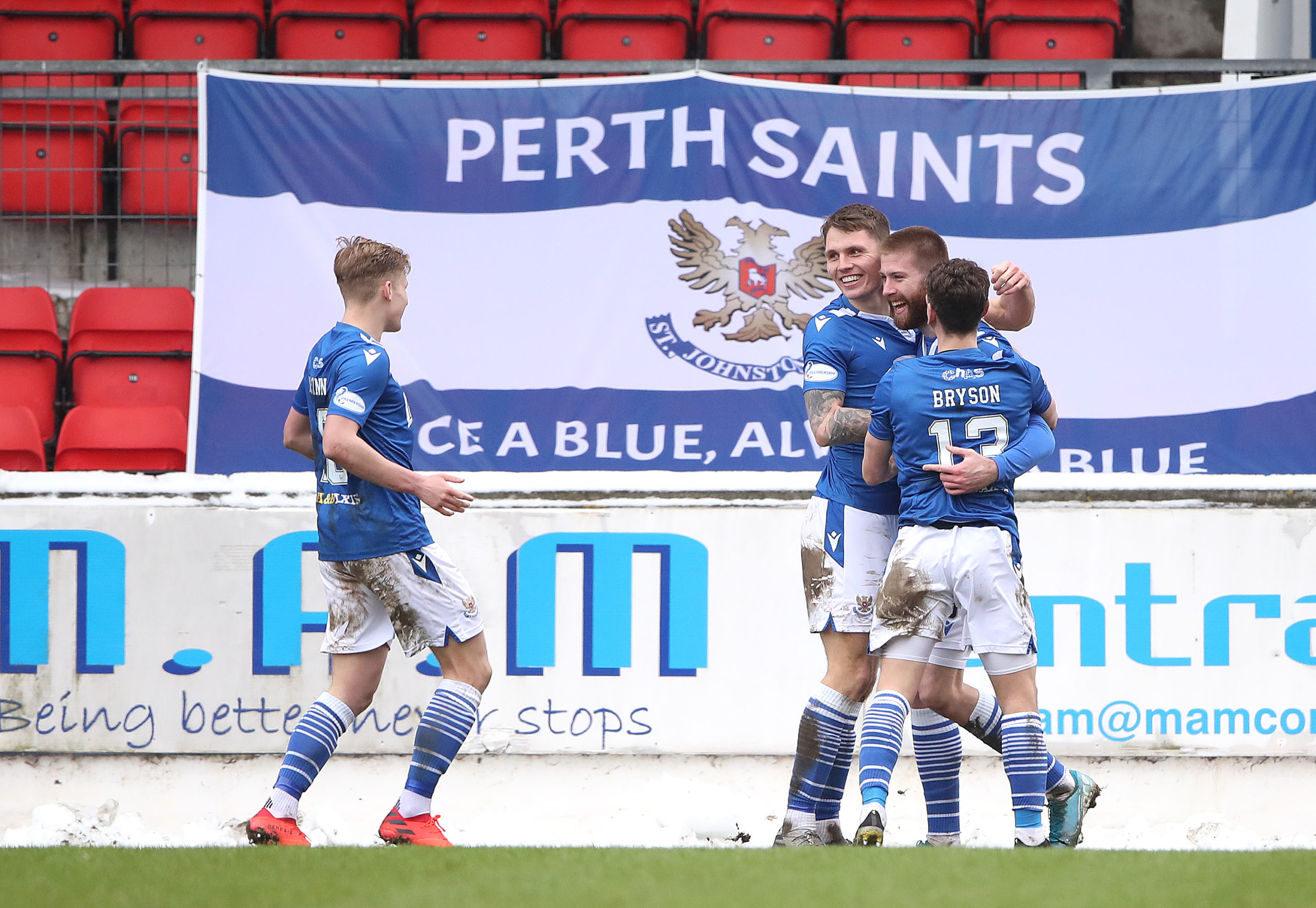 St Johnstone were allowed to ease into the game against Celtic